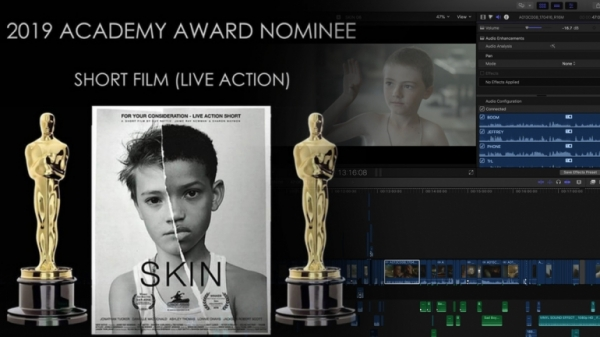 Skin best live action short film nominee 2019 Academy Awards